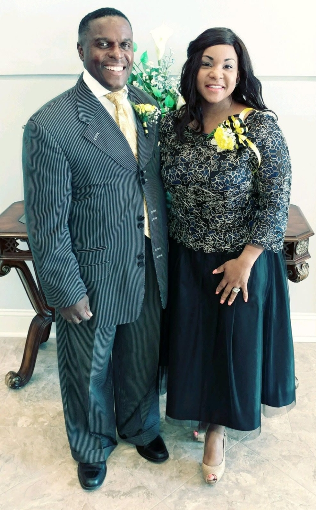 Pastor David Lee Jackson, pictured with First Lady Edwina Jackson.